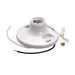 Pass & Seymour 280-WH6 Pull Chain Incandescent Lampholder; 250 Volt, 250 Watt, Medium Base, Box Mount, White