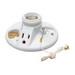 Pass & Seymour 288 Pull Chain Incandescent Lampholder; 125 Volt, 250 Watt, Medium Base, Box Mount, White