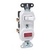Pass & Seymour 692-W Combination Switch with Single Pilot Light; 120/125 Volt AC, 15 Amp, 1-Pole, Non-Grounding, White