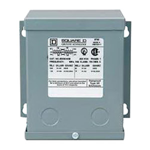 Schneider Electric / Square D 250SV46B Buck-Boost Dry Transformer; 120/240 Volt Primary, 16/32 Volt Secondary, 0.25 KVA, 4-wire, 1 Phase
