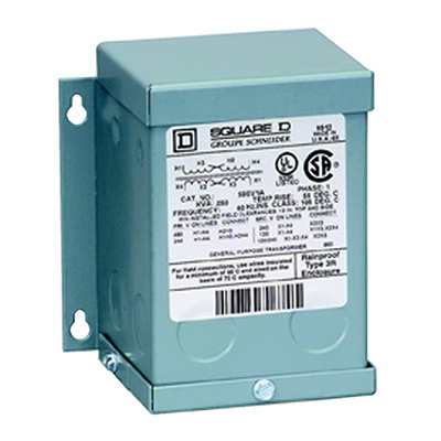 Schneider Electric / Square D 1S82F Buck-Boost Dry ...