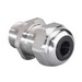 Thomas & Betts 2920SST Ranger® Liquidtight Straight Cord Connector; 1/2 Inch, Threaded x Compression, 304 Stainless Steel