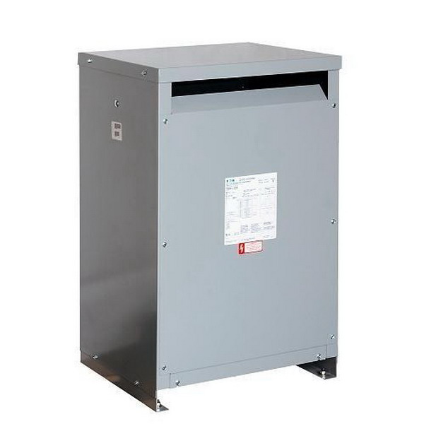 Eaton / Cutler Hammer T20P11S50AEE Dry Type Transformer 240 x 480 Volt Primary  120/240 Volt Secondary  50 KVA  1 Phase