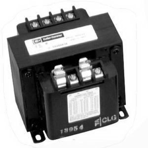Eaton / Cutler Hammer C0750E2A MTE Industrial Control Transformer; 240 x 480/230 x 460/220 x 440 Volt Primary, 120/115/110 Volt Secondary, 750 VA, Screw Terminal, 1 Phase