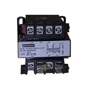 Eaton / Cutler Hammer C0050E3A MTE Industrial Control Transformer 208/277 Volt Primary  120 Volt Secondary  50 VA  Screw Terminal  1 Phase