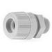 Woodhead / Molex 5540 Max-Loc® Straight Strain Relief Cord Sealing Grip; 0.562 - 0.687 Inch Dia, Nylon