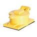 Woodhead / Molex 67W76 Watertite® Single Flip Lid Female Receptacle; Box Mount, 480 Volt, 20 Amp, 3-Pole, 4-Wire, NEMA L16-20R, Yellow