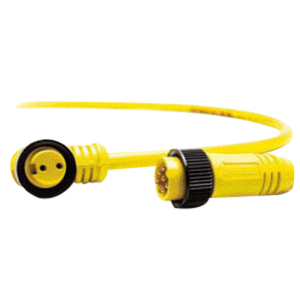 Woodhead / Molex 103000A01F120 Brad® Mini-Change® STOOW A-Size Single-Ended Cordset; 12 ft, 13 Amp, 600 Volt, 3-Pole, Yellow