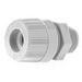 Woodhead / Molex 5528 Max-Loc® Watertite® Straight Strain Relief Cord Sealing Grip; 0.375 - 0.437 Inch Dia, Nylon