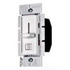 Hubbell Wiring RS600PW tradeSelect® Single Pole Preset Slide Dimmer; 120 Volt AC, 600 Watt, 5 Amp, Incandescent, White