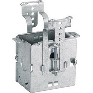 Hubbell Wiring RF500 Netselect® Rectangular Deep Standard Size Adjustable Floor Box; Steel