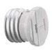Hubbell Wiring RL201 Incandescent Lampholder Adapter; 125 Volt, White