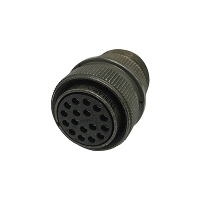 """""Amphenol MS-3106A-18-10S Circular Connector Aluminum Alloy,"""""" 630441"