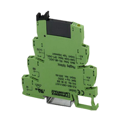 Phoenix Contact Phoenix 2967947 PLC-OSC-24DC/230AC/ PLC Actuator Interface Solid-State Relay Module; 24 Volt DC Input, 24 - 253 Volt AC Output, 9 Milli-Amp Input, 0.75 Amp Output, Universal Mount