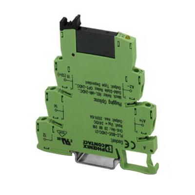 Phoenix Contact Phoenix 2967471 24DC/24DC/ PLC-OSP- PLC Interface Solid-State Relay Module; 24 Volt DC Input, 3 - 33 Volt DC Output, 9 Milli-Amp Input, 3 Amp Output, Universal Mount