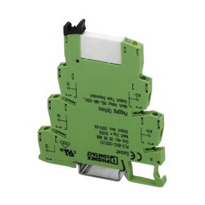 Phoenix 2967662 PLC-RSC-120UC/21 HC PLC Relay Module; SPDT, 1-Pole, Universal Mount
