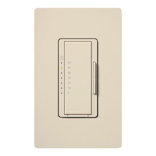 Lutron MA-T51-LA Maestro® Preset Countdown Timer Control Switch; 5 - 60 min, Light Almond