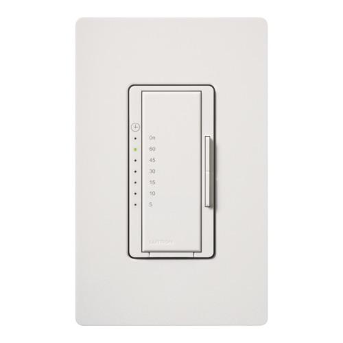Lutron MA-T51MN-WH Maestro® Preset Countdown Timer Control Switch; 5 - 60 min, White