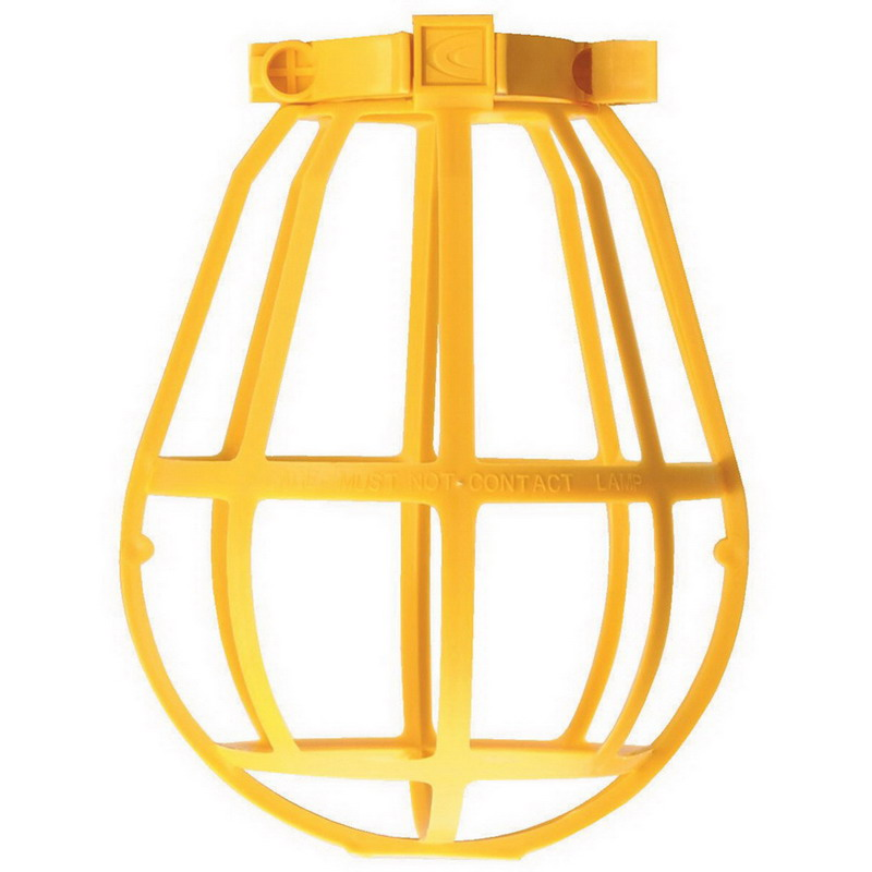 Coleman Cable / CCI 07300 Replacement Lamp Guard; Plastic, Yellow
