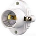 Cooper Wiring S752W-SP Arrow Hart™ Keyless Cleat Socket; 250 Volt AC, 660 Watt, Medium Base, Thermoset, White