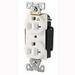 Cooper Wiring IG5362RN Arrow Hart™ Isolated Ground Straight Blade Premium Duplex Receptacle; Strap Mount, 125 Volt, 20 Amp, 2-Pole, 3-Wire, NEMA 5-20R, Orange