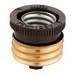 Cooper Wiring 332-BOX Eagle™ Keyless Socket Reducer; 250 Volt, 660 Watt, Mogul To Medium Base, Porcelain/Brass, Ivory