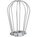 McGill 2100-2100-A Gripon Heavy Duty Closed Bottom Wire Lamp Guard; 100 Watt, Steel, Zinc-Plated With Chromate