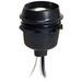 McGill 4017 String-O-Lights Socket; 4.500 Inch Pigtail Lead Terminal, 600 Watt