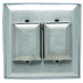 Cooper Wiring WP2 Self-Closing Lid Weatherproof Cover; Box/Panel Mount, Rugged Glass-Filled Nylon, Gray