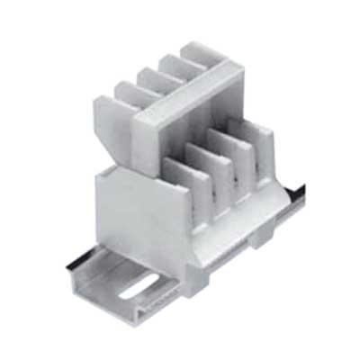 Bussmann 15188J-2/J 2-Circuit Jumper; For Use With 15188 Series Rail Mount Disconnect Terminal Blocks