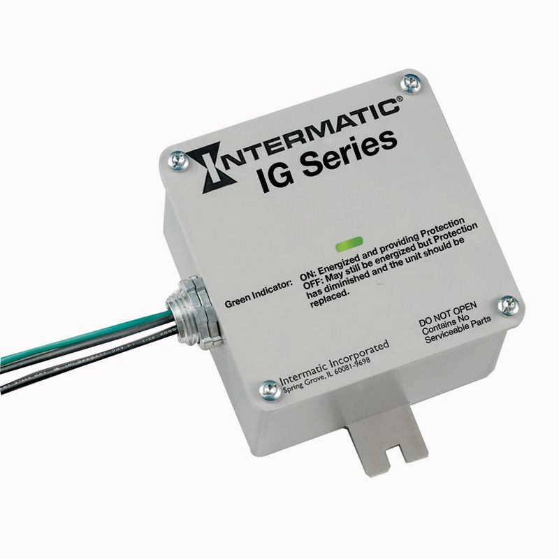 Intermatic IG1240RC3 Panel Guard® Surge Protective Device; 120/240 Volt AC