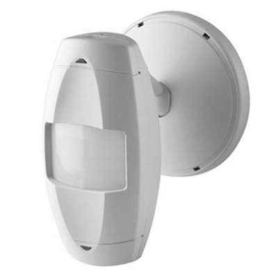 Leviton OSWHB-I0W Passive Infrared High-Bay Aisle Occupancy Sensor 24 Volt DC Input/Output  55 ft x 7 ft At 30 ft Height  120 ft x 14 ft Major  White
