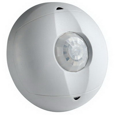 Leviton OSC15-I0W Passive Infrared Occupancy Sensor; 24 Volt DC Input/Output, 1500 Sq ft, 50 ft Dia (Major Motion), 20 ft Dia (Minor Motion), Off-White