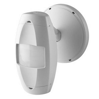 Leviton OSWLR-I0W Passive Infrared Long Range Aisle Occupancy Sensor; 24 Volt DC Input/Output, 100 ft x 14 ft At 10 ft Height, 100 ft x 14 ft (Major), White