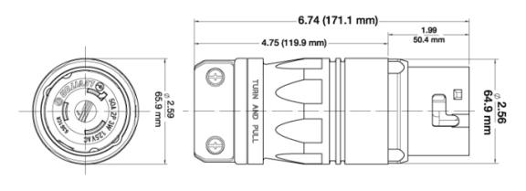 leviton cs6365c twist lock plugs