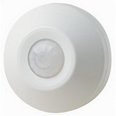 Leviton ODC0S-I1W Passive Infrared Occupancy Sensor; 120 Volt AC, 530 Sq ft, White