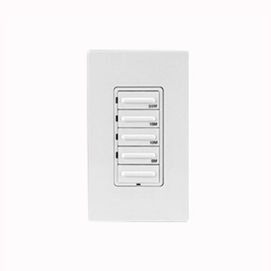 Leviton LTB30-1LZ Decora® Preset Countdown Timer Switch; 30 min, White/Ivory/Light Almond