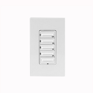 Leviton LTB12-1LZ Decora® Preset Countdown Timer Switch; 12 Hour, White/Ivory/Light Almond