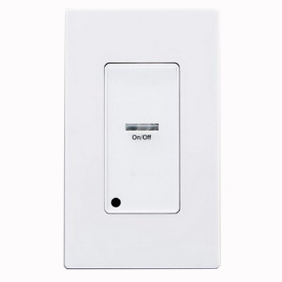 Leviton LVS-1W Decora® Low Voltage Pushbutton Station; 24 Volt DC, White