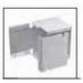 MonoSystems SMS3005-I SnapMark™ Entrance End; Steel, Ivory