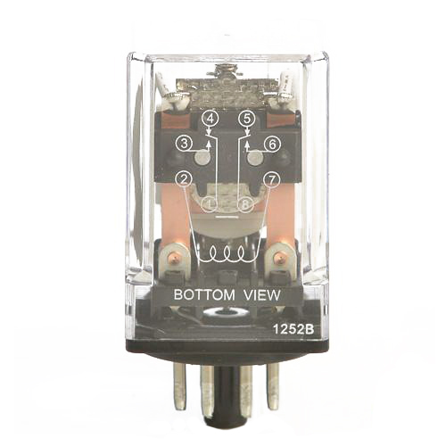 selecta switch sr67s200a7 ac operated general purpose relay 10 selecta switch sr67s200a7 ac operated general purpose relay 10 amp dpdt 2 pole socket mount