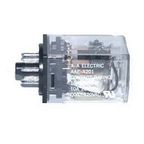 Selecta Switch SR67S215A7 AC Operated General Purpose Relay; 10 Amp, DPDT, 2-Pole, Socket Mount