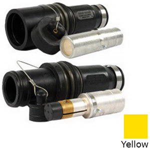 "Cooper Crouse-Hinds E1049-22 E1049 Series Single Pole Male Connector 1135 Amp, 1000 Volt AC/DC, 1-Pole, Hex Crimp Or Solder, 777 MCM, Yellow,"""