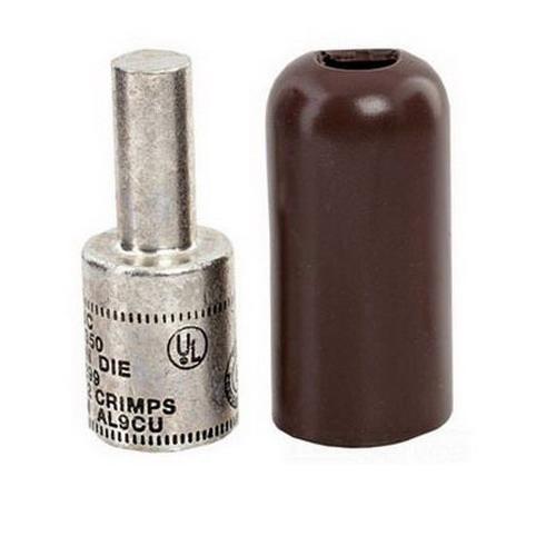 NSI PTS750 Solid Pin Terminal; 750 MCM, 600 Volt, Yellow