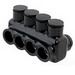 NSI IPL1/0-4B Polaris™ Single Sided Entry Insulated Multi-Tap Cable Connector Block