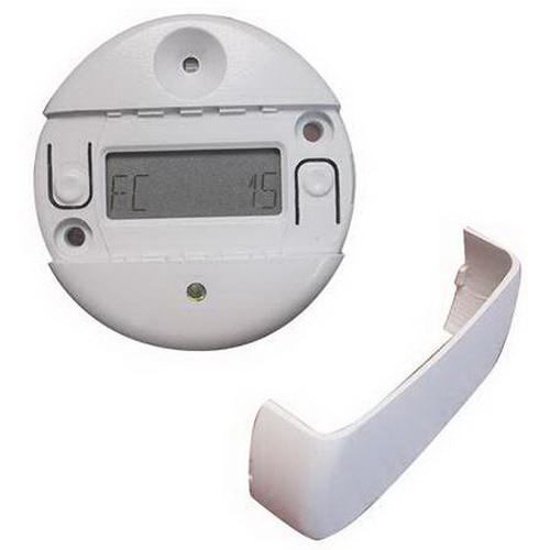 Watt Stopper LS-102 LightSaver® ON/OFF Closed Loop Daylight Switching Photosensor; 12/24 Volt DC, White, Ceiling/Fixture Or Bracket