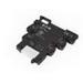 Eaton / Cutler Hammer XRU2D24 XR Series Standard Terminal Block Relay; 24 Volt DC Input, 18 Milli-Amp Input, 6 Amp Output, DPDT, 2-Pole, DIN Rail Mount