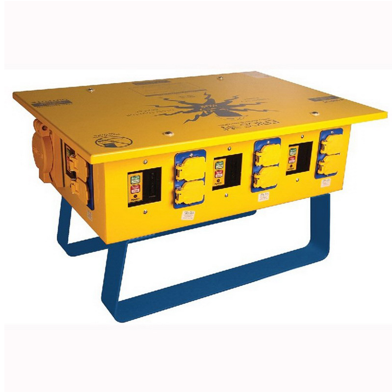 Ericson 1066-FS Oscar™ Temporary Power Distribution Center; 50 Amp, 125/250 Volt, 4-Wire, NEMA 3R