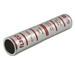 Ilsco CTL-250 SureCrimp® Center Wire Stop Long Chamfered Barrel Compression Sleeve; 250 KCMIL-1/0 AWG, 600 Volt - 35 Kilo-Volt
