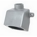 Hubbell Electrical / Killark VRE46 Versamate® Back Box; 6-4 AWG Regular Stranding and Extra Flex, 60 Amp, Gray